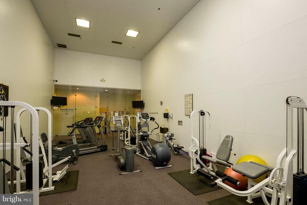 Exercise Room in Community - 4404 HELMSFORD LN #203, FAIRFAX