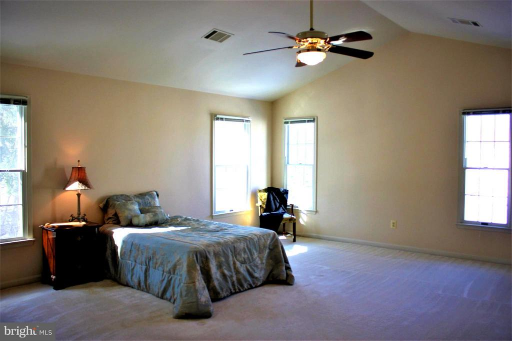 Bedroom (Master), with vaulted ceiling, 2 walk ins - 46437 ESTERBROOK CIR, STERLING