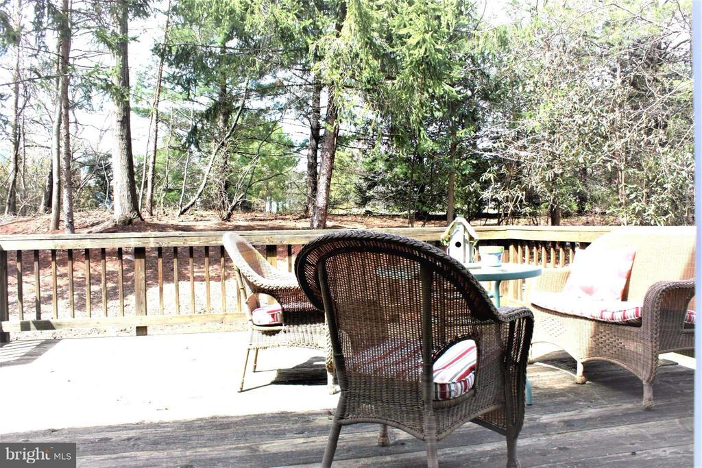 Exterior (Rear) Tranquil backs to trees! - 46437 ESTERBROOK CIR, STERLING