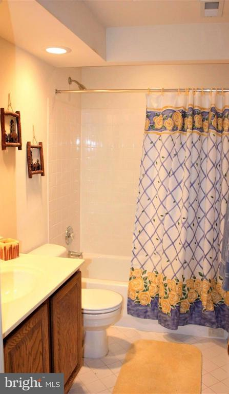 3 piece full bath in basement - 46437 ESTERBROOK CIR, STERLING