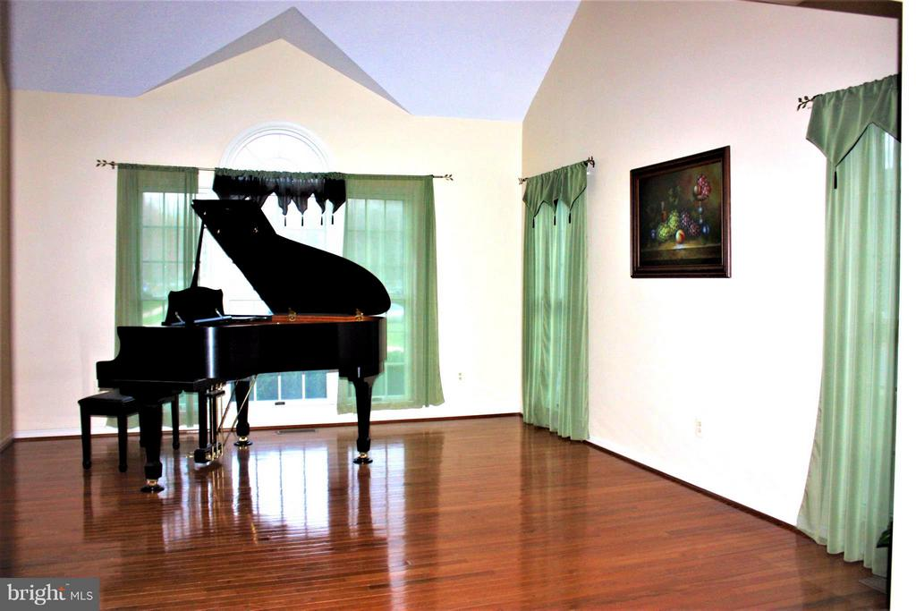 Living Room huge w/vaulted ceiling. - 46437 ESTERBROOK CIR, STERLING