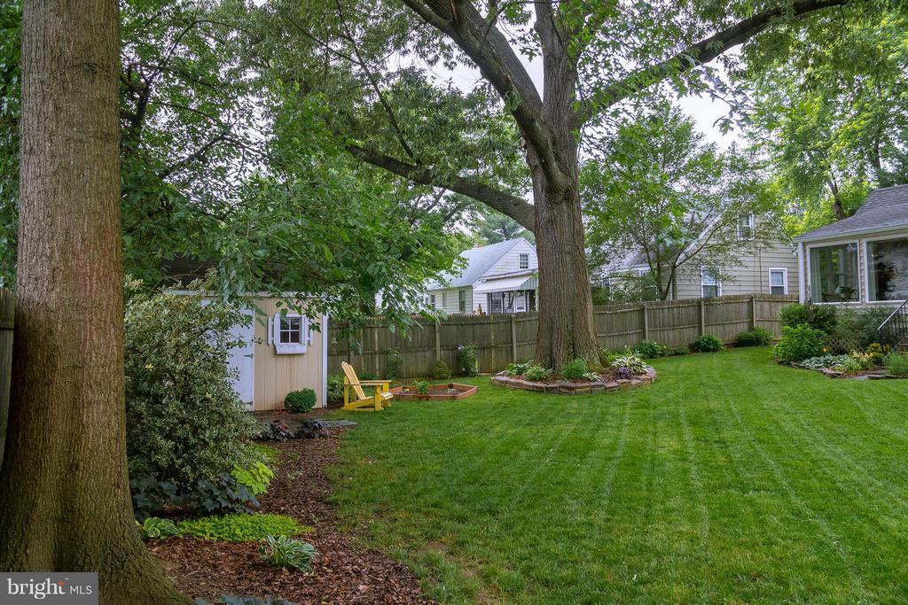 Backyard - 6701 JEFFERSON AVE, FALLS CHURCH