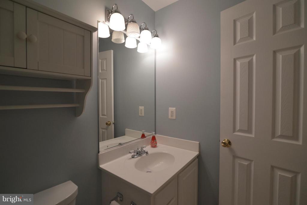 2nd bathroom pic in basement - 611 MARSHALL DR NE, LEESBURG