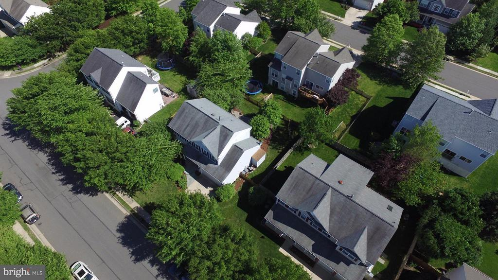 Aerial photo - because we like drones :) - 611 MARSHALL DR NE, LEESBURG