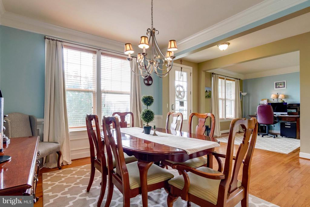 Dining Room - 15300 MARIBELLE PL, WOODBRIDGE