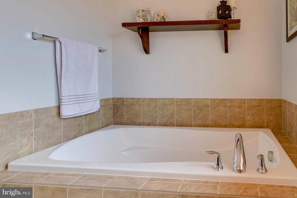 Master Bath Soaking Tub - 15300 MARIBELLE PL, WOODBRIDGE