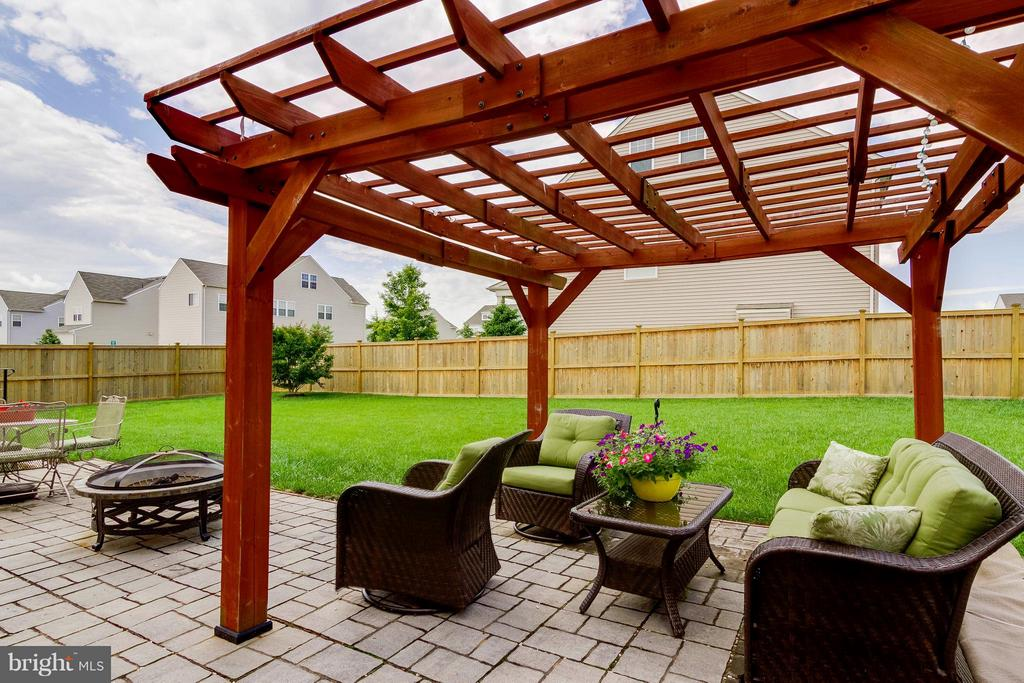 Patio - 15300 MARIBELLE PL, WOODBRIDGE