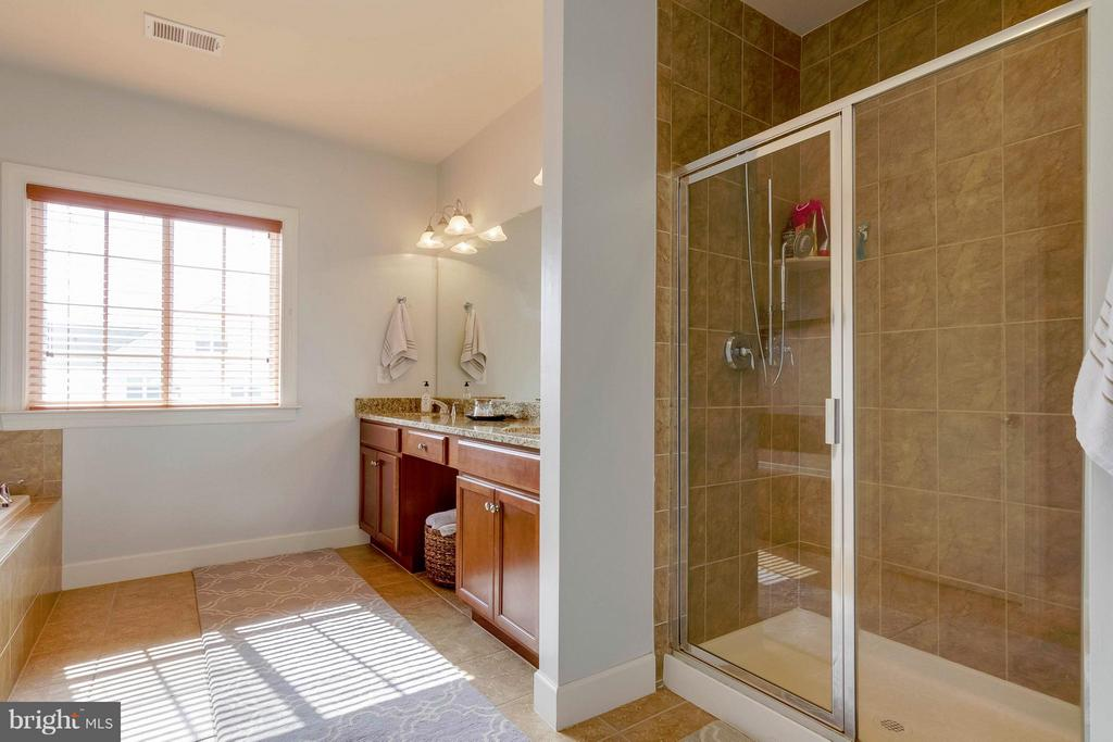Master Bath - 15300 MARIBELLE PL, WOODBRIDGE