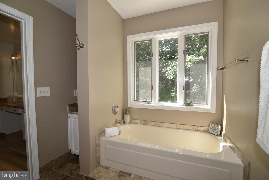 Soaker tub. - 287 BARKER LN, BLUEMONT