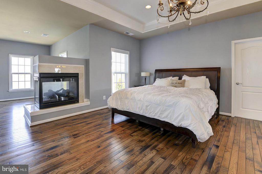 Large Master w/beautiful HDWDs - 16545 LEVADE DR, LEESBURG