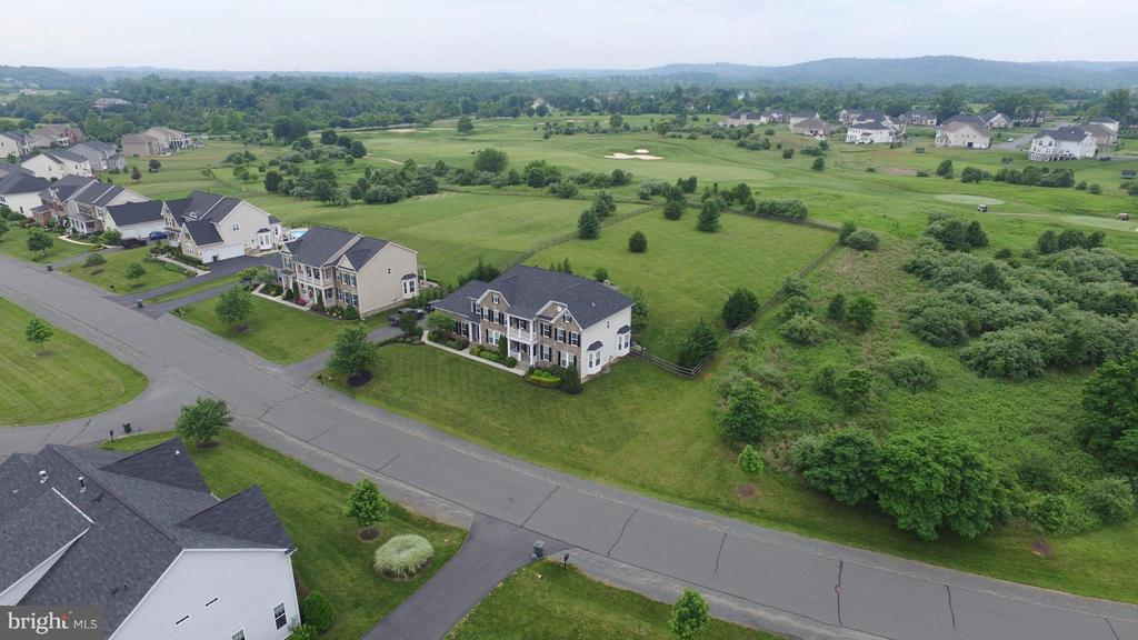 Large lot - backs to 12th hole of golf course! - 16545 LEVADE DR, LEESBURG