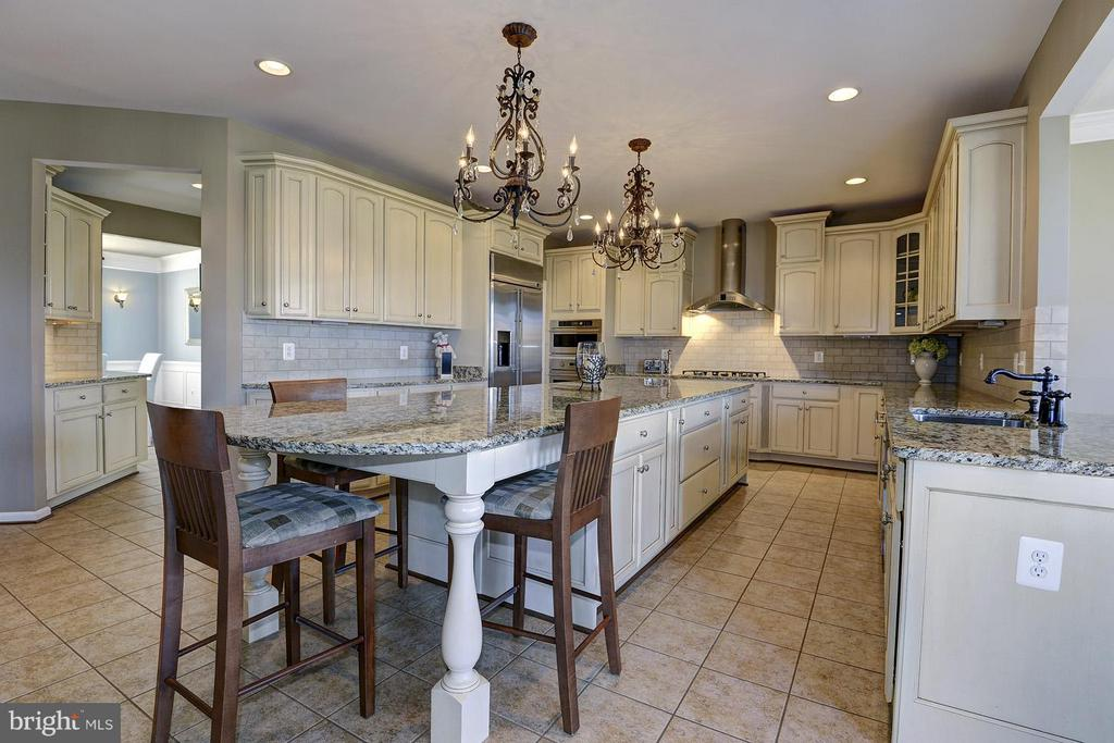 Gorgeous cabinets and granite counters - 16545 LEVADE DR, LEESBURG