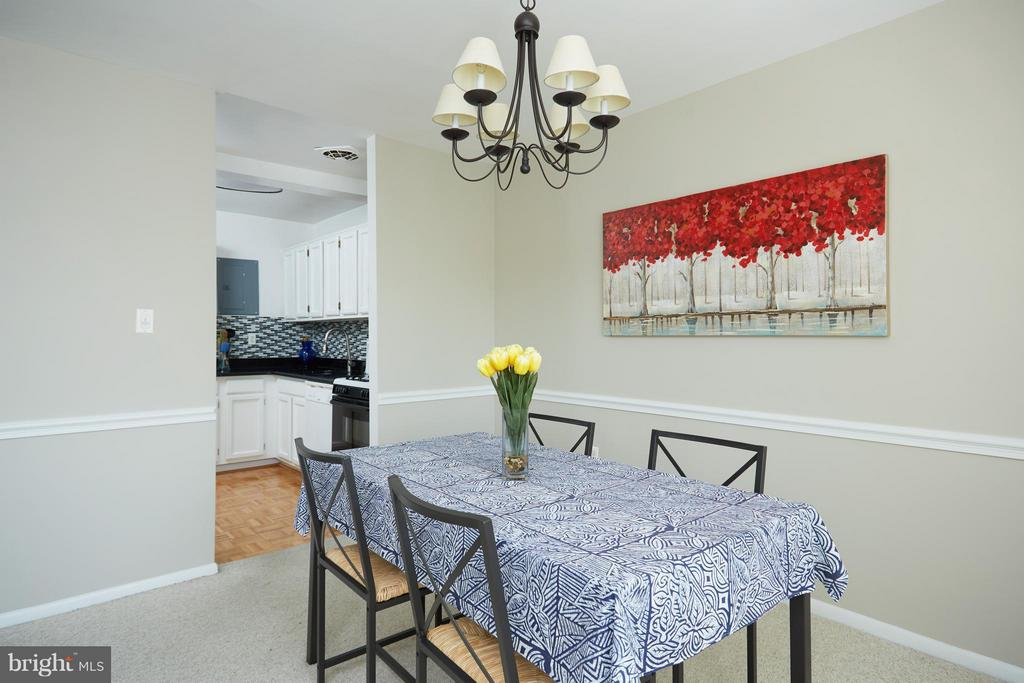 Dining Room - 200 MAPLE AVE N #410, FALLS CHURCH