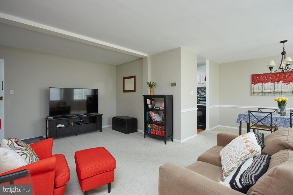 Living Room - 200 MAPLE AVE N #410, FALLS CHURCH