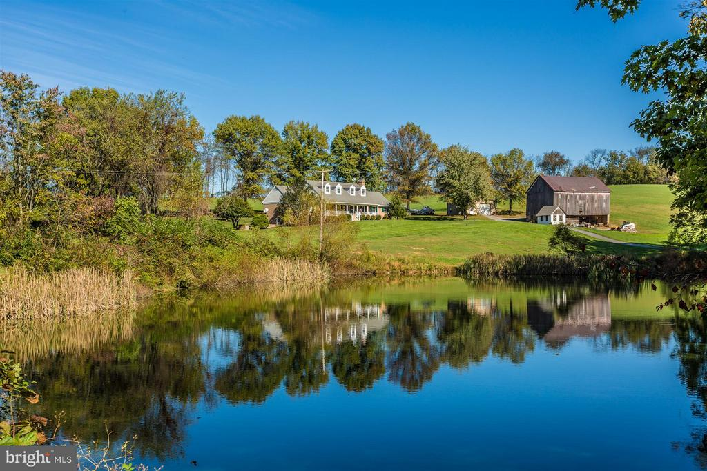 Gorgeous Cape Cod overlooking Park Lake (yours!) - 3829 PURDUM DR, MOUNT AIRY