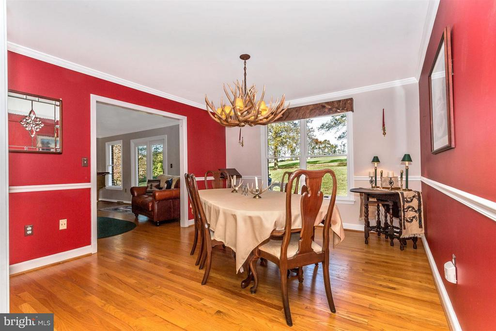 Separate Formal Dining Room overlooking Hay Field - 3829 PURDUM DR, MOUNT AIRY