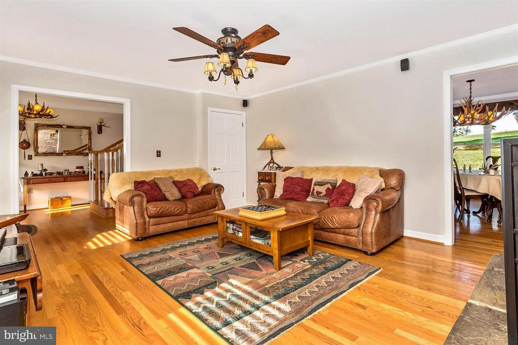 Family Room2-This home has Rare Natural GAS Heat - 3829 PURDUM DR, MOUNT AIRY