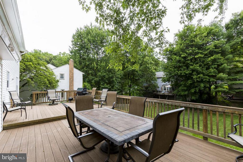 Enjoy the Private Green Space of the 0.33 Acre Lot - 6207 GOODING POND CT, BURKE
