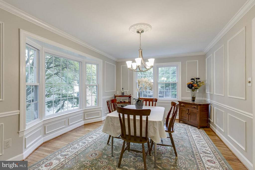 Natural Light Through Bay and Rear Windows - 6207 GOODING POND CT, BURKE