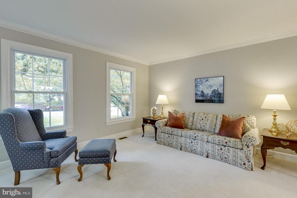 Large Living Room Perfect for Entertaining - 6207 GOODING POND CT, BURKE