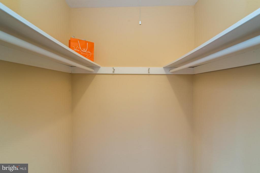 Bedroom (Master) with walk in closet! - 11911 SAINT JOHNSBURY CT, RESTON