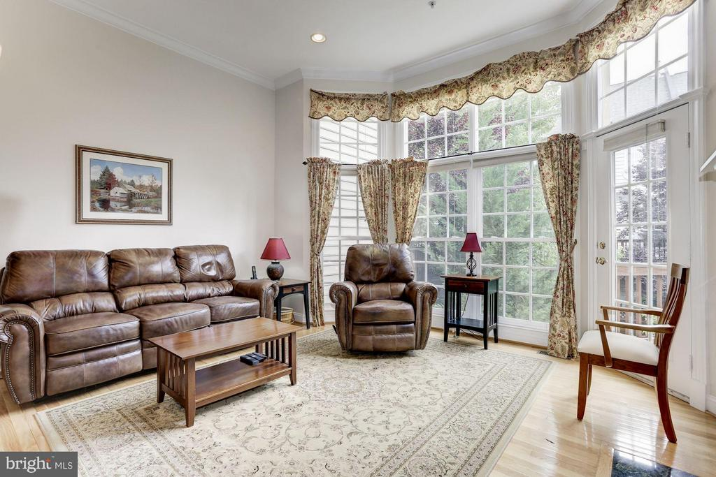 Bright 2nd Family Rm Off Kitchen Leading to Deck - 5237 BESSLEY PL, ALEXANDRIA