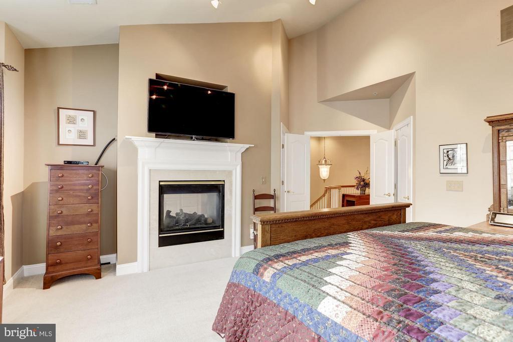Double fireplace in bedroom and bath - 5237 BESSLEY PL, ALEXANDRIA
