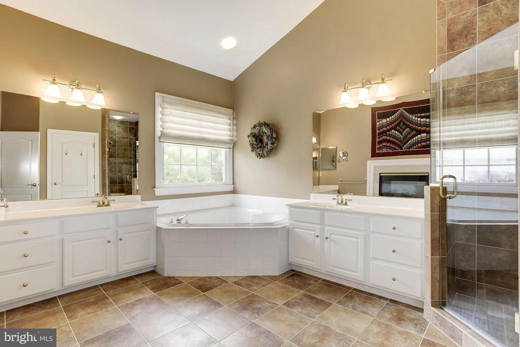 Spa Bathroom with Soaking tub, separate shower - 5237 BESSLEY PL, ALEXANDRIA