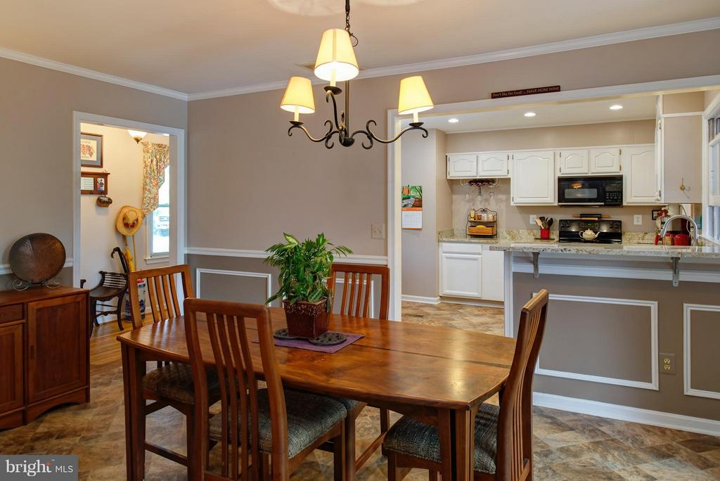 Dining Room - 7890 CANNONBALL GATE RD, WARRENTON