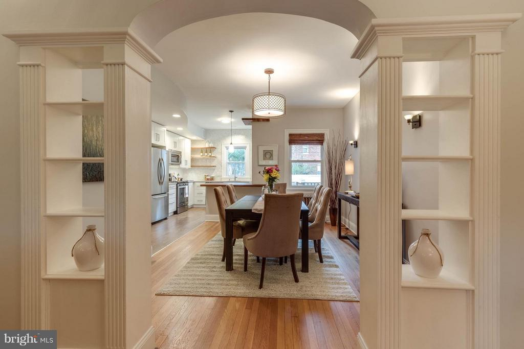 Dining Room - 5211 NEW HAMPSHIRE AVE NW, WASHINGTON