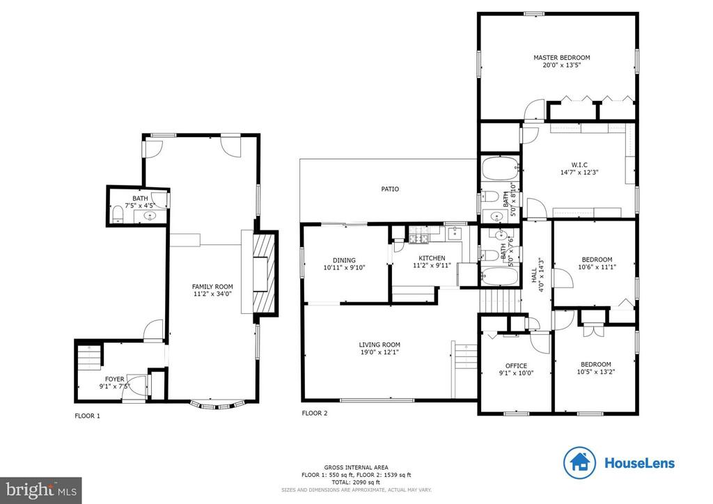 Floorplan - 12628 LEEWAY CT, WOODBRIDGE