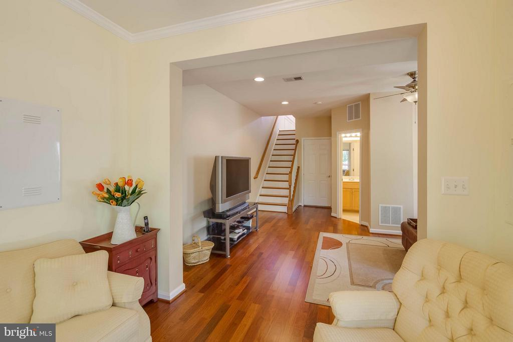 Lower Level View from Sitting Room - 21935 WINDY OAKS SQ, BROADLANDS