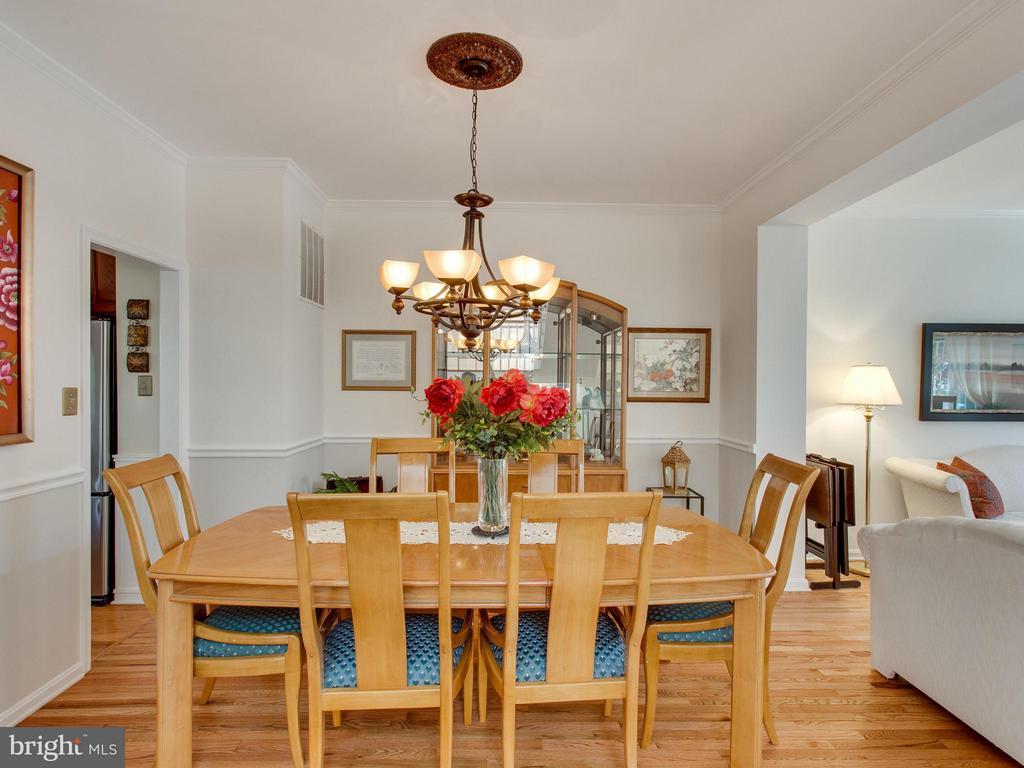 Dining Room - 6610 THURLTON DR, ALEXANDRIA