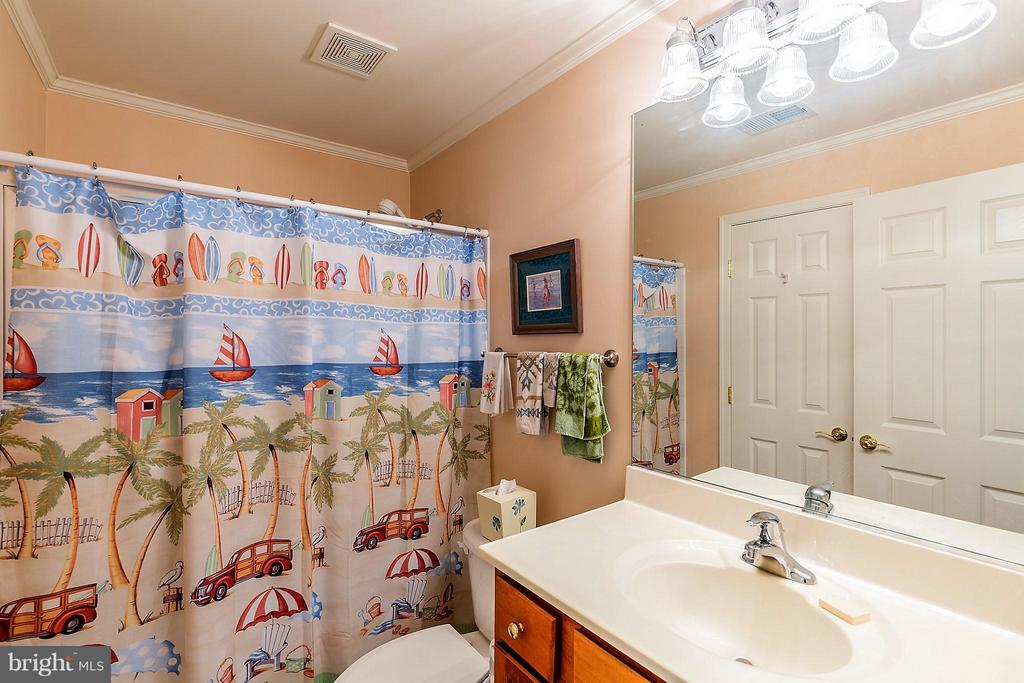 Third Full Bath on Lower Level - 17597 FOUR SEASONS DR, DUMFRIES