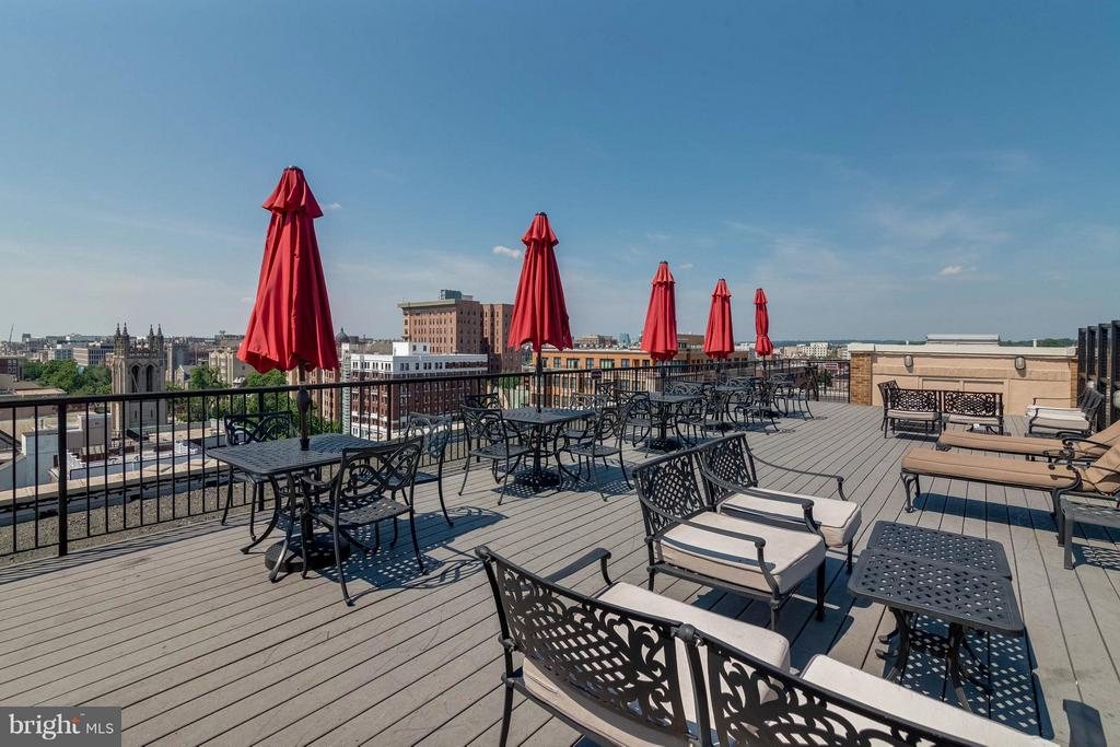 Roof Top Deck with Panoramic Views - 1701 16TH ST NW #614, WASHINGTON