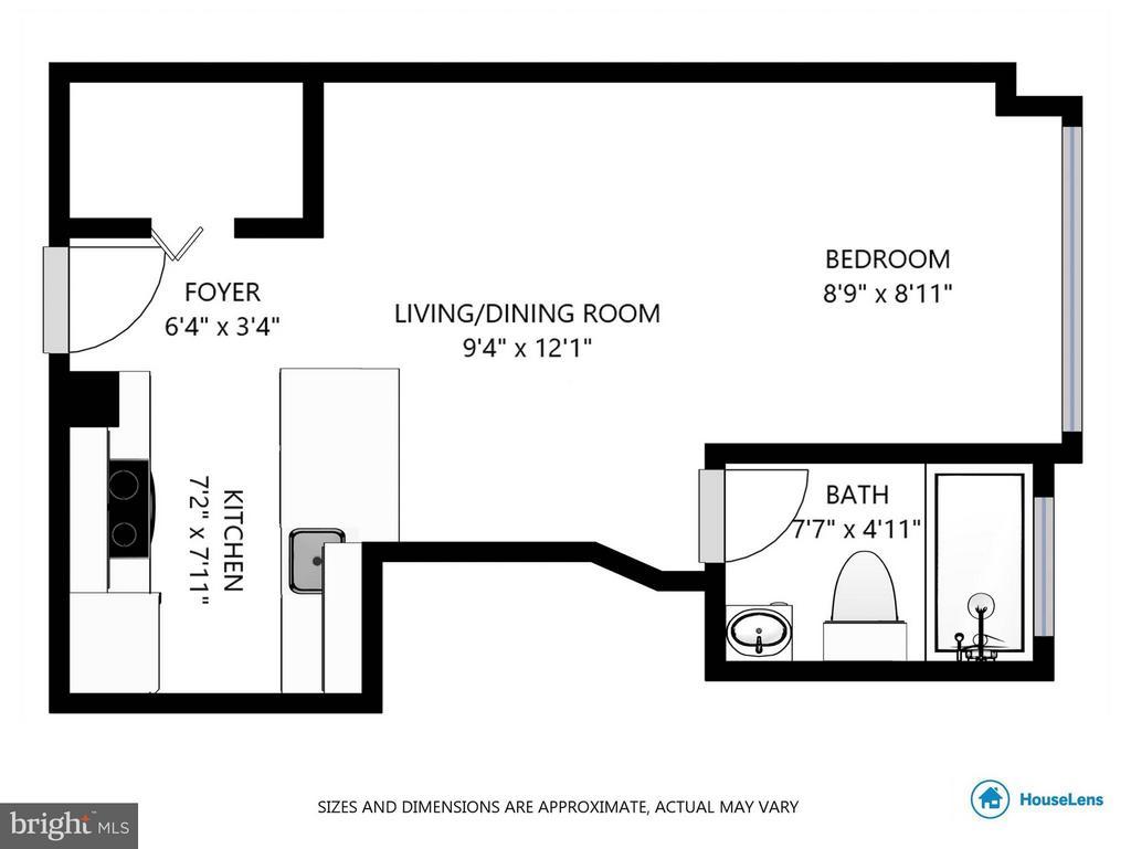 Interior (General) - 1701 16TH ST NW #614, WASHINGTON