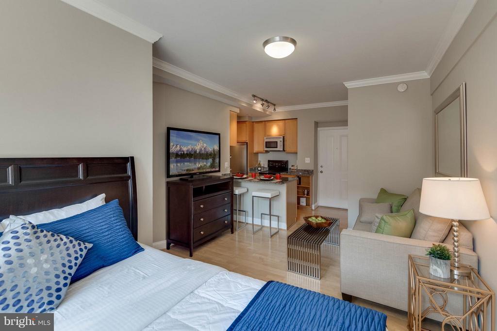 Bedroom (Master) - 1701 16TH ST NW #614, WASHINGTON