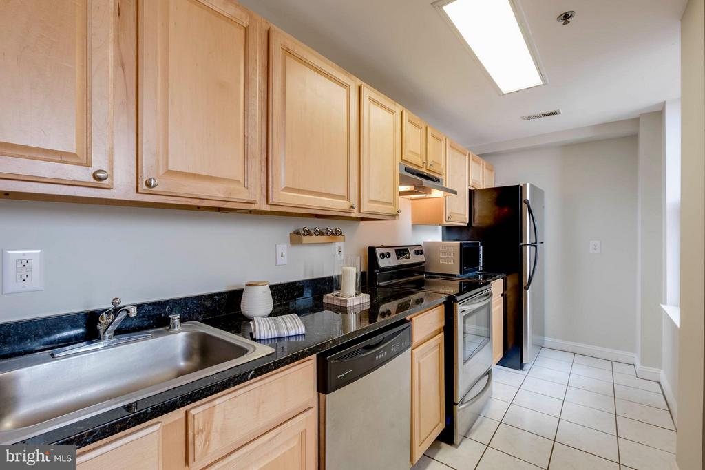 Kitchen with lots of Natural Light - 1621 T ST NW #707, WASHINGTON