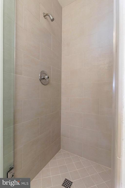 MBA~Custom Glass Shower Door, Italian Ceramic Tile - 10167 TURNBERRY PL, OAKTON