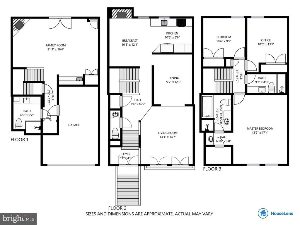 Floorplan - 10167 TURNBERRY PL, OAKTON