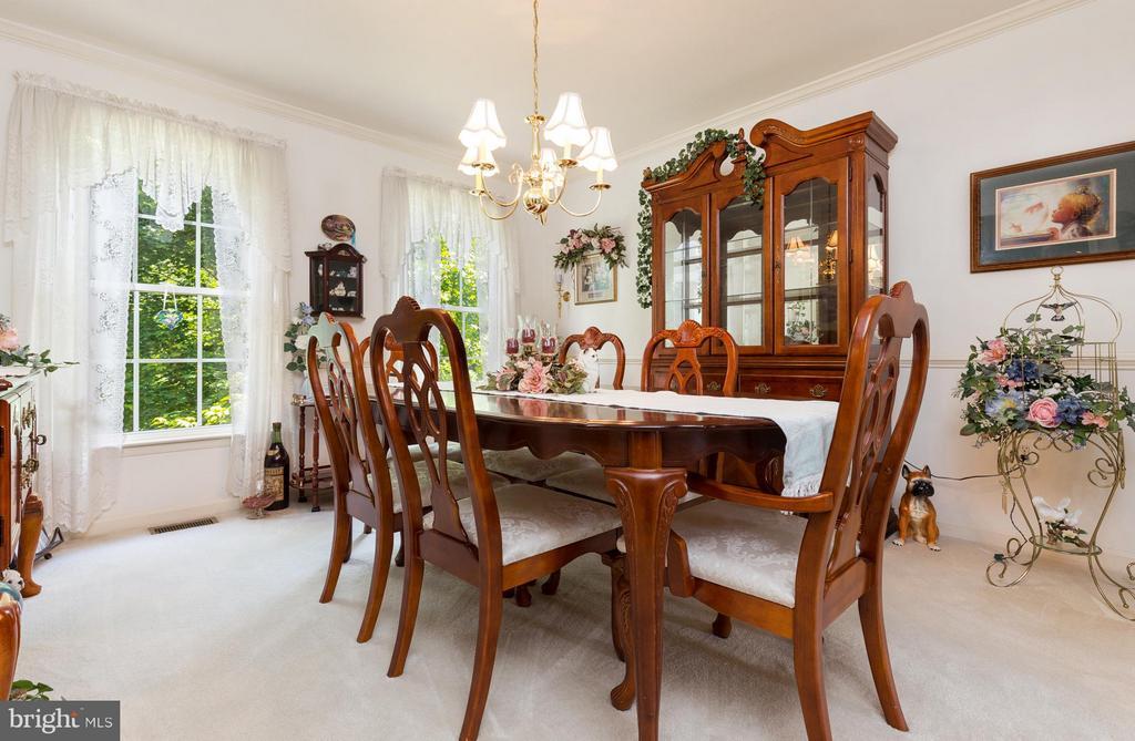 Dining Room - 12126 KINGSWOOD BLVD, FREDERICKSBURG
