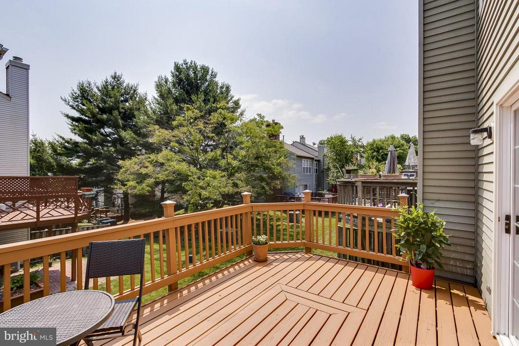 Newly Painted Deck - 12131 WEDGEWAY PL, FAIRFAX