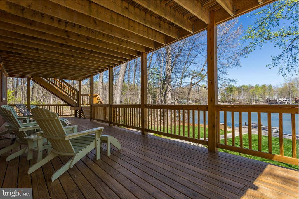 Lower Level Deck - 125 HILLSIDE DR, LOCUST GROVE
