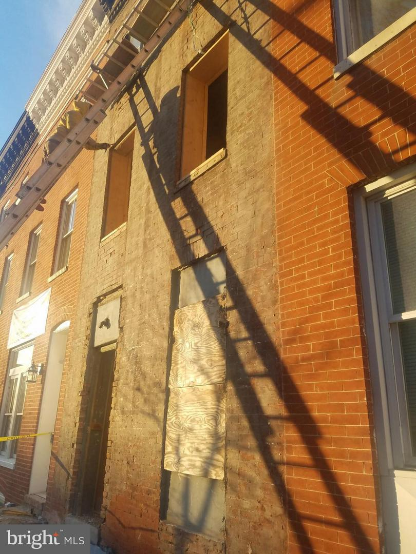 Single Family for Sale at 2038 E Fayette St Baltimore, Maryland 21231 United States