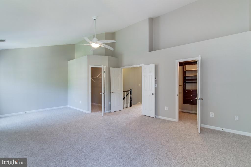 Walk in closets in Master BR - 5292 SANDYFORD ST, ALEXANDRIA