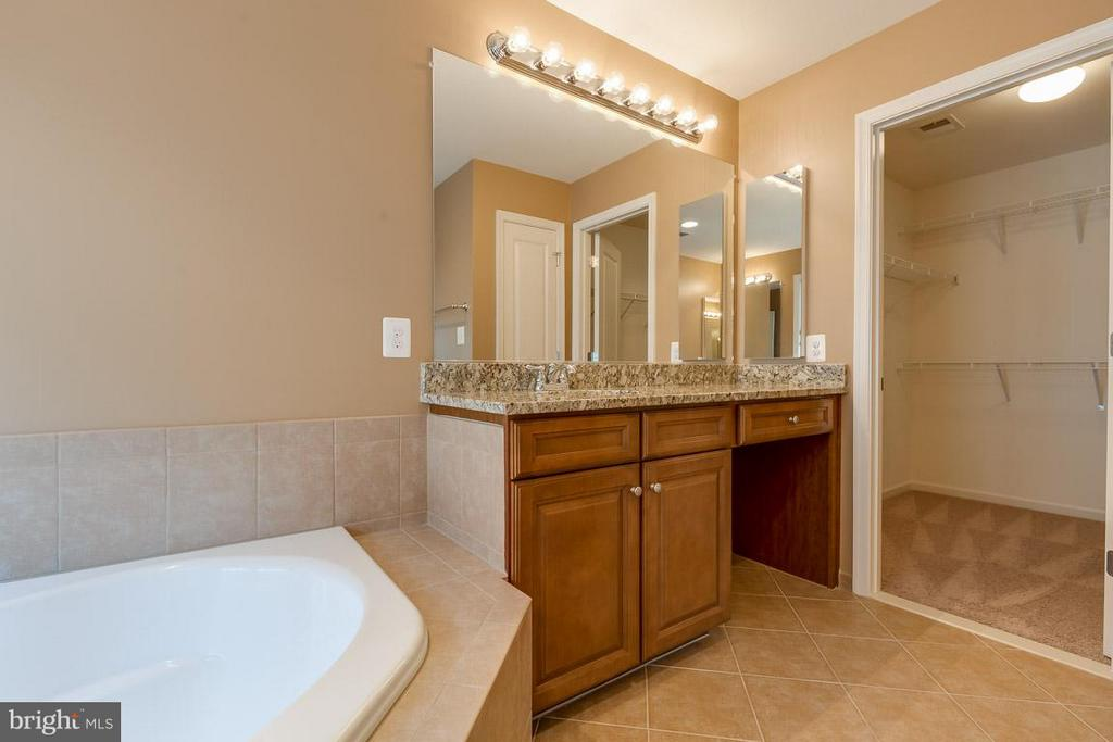 2nd vanity and entrance to 2nd walk-in closet - 23221 FALLEN HILLS DR, ASHBURN