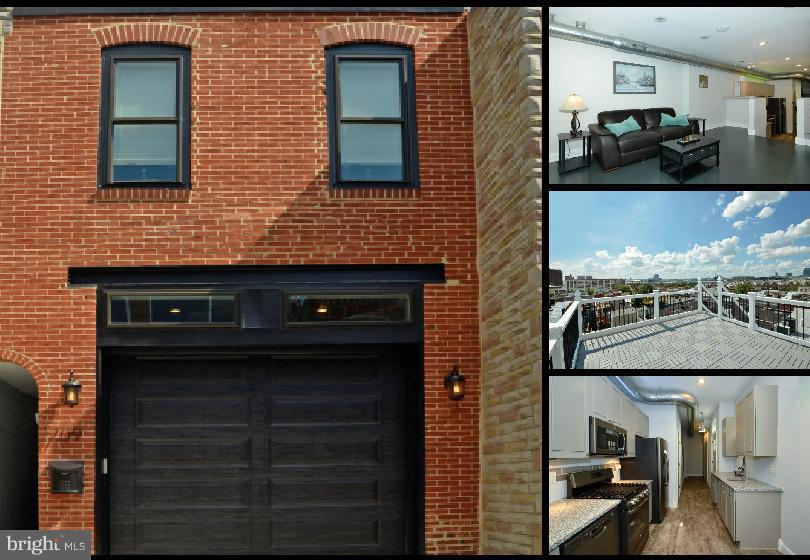 Photo of home for sale at 709 Port Street S, Baltimore MD