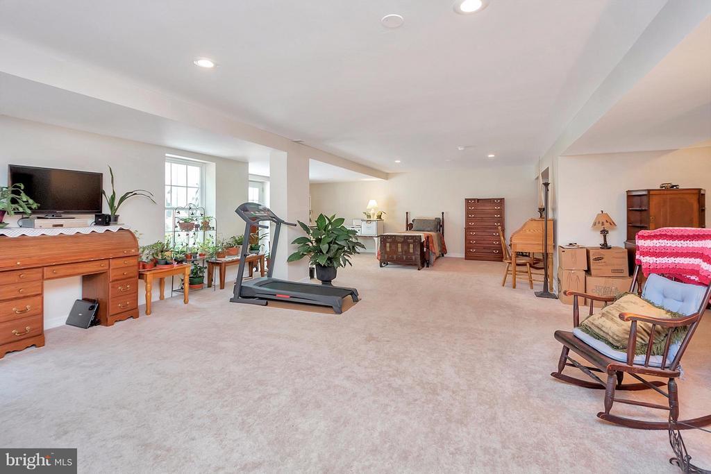 recreation room in Basement - 19 CLOVERLEAF CT, FREDERICKSBURG
