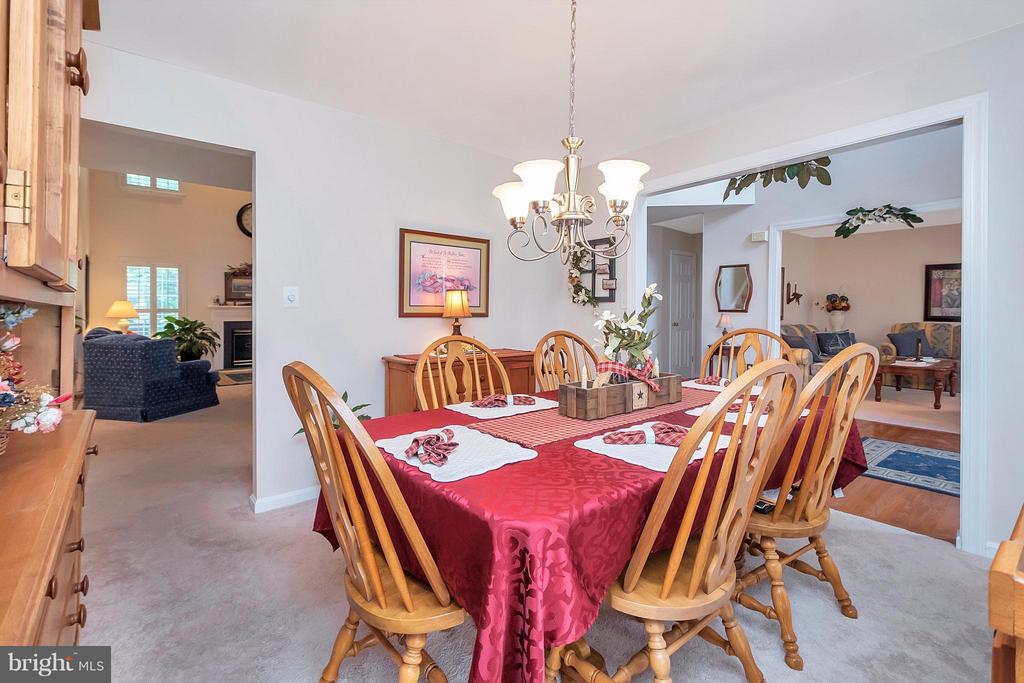 Dining Room - 19 CLOVERLEAF CT, FREDERICKSBURG