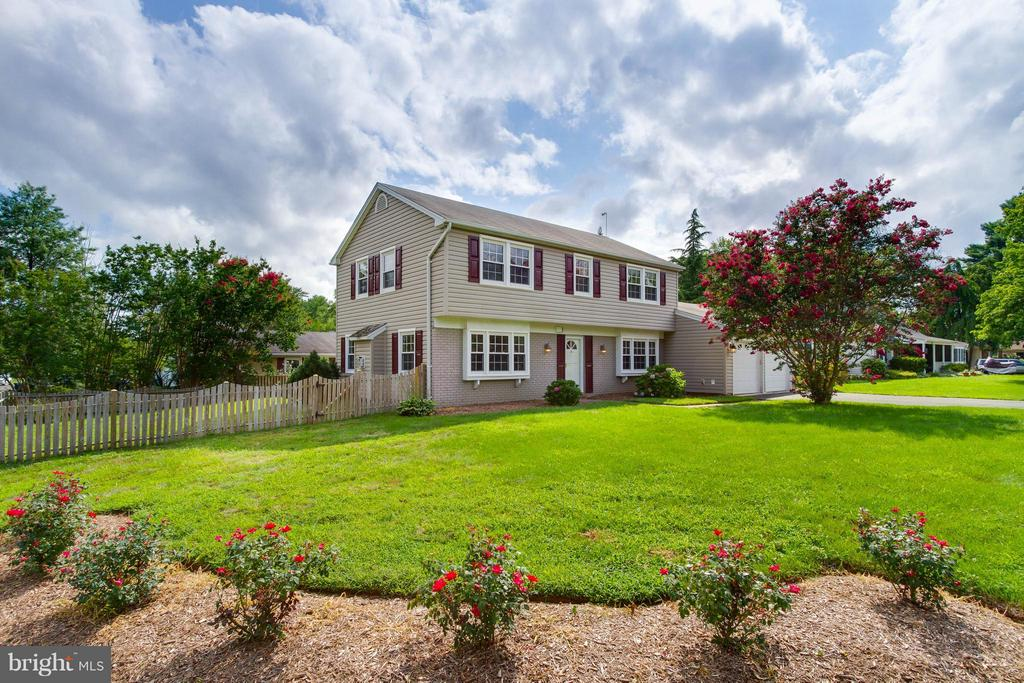 Gardens, luscious lawn and crepe myrtle tree! - 13127 PENNYPACKER LN, FAIRFAX